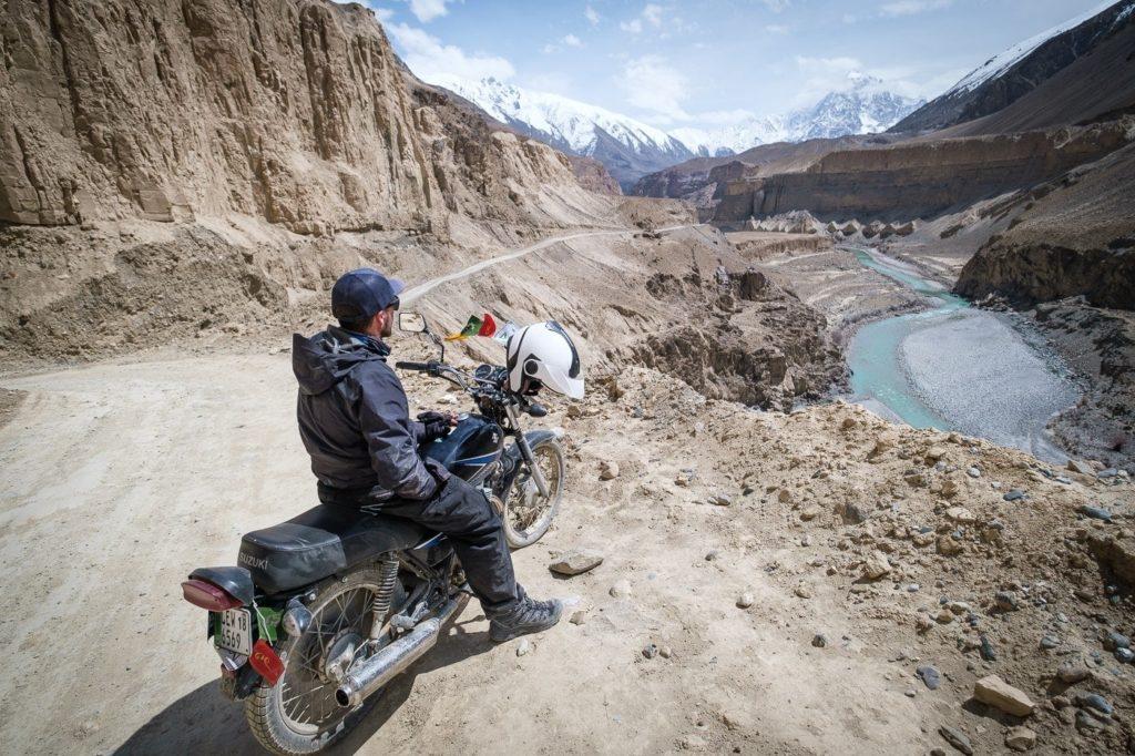 motorcycle in Pakistan