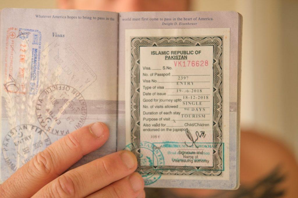 pakistan visa letter